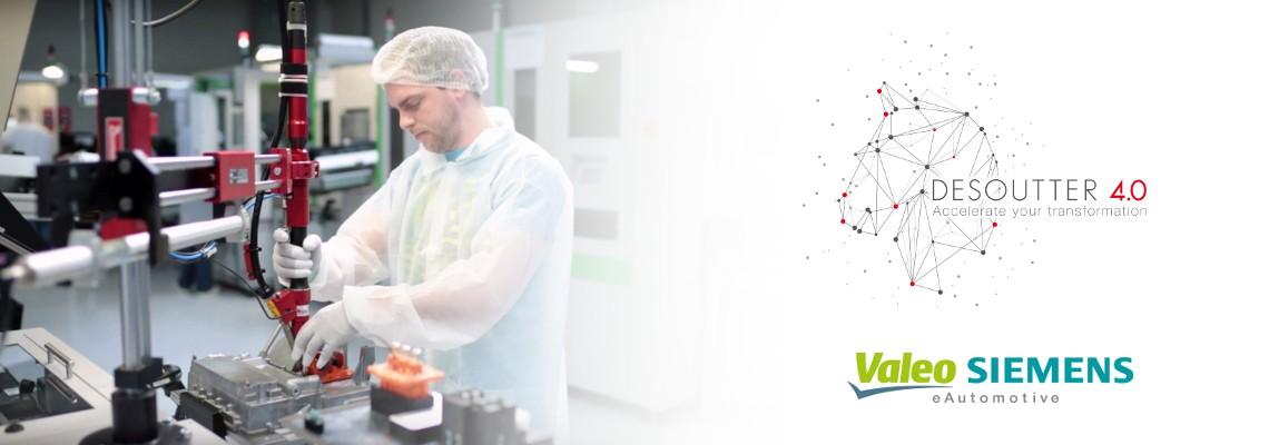 Valeo Siemens eAutomotive Desoutter çözümlerine güveniyor
