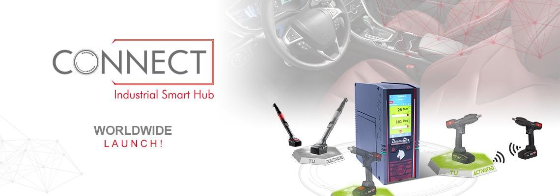 Yeni Desoutter 4.0 çözümü: Endüstriyel Akıllı Kontrol Ünitesi CONNECT