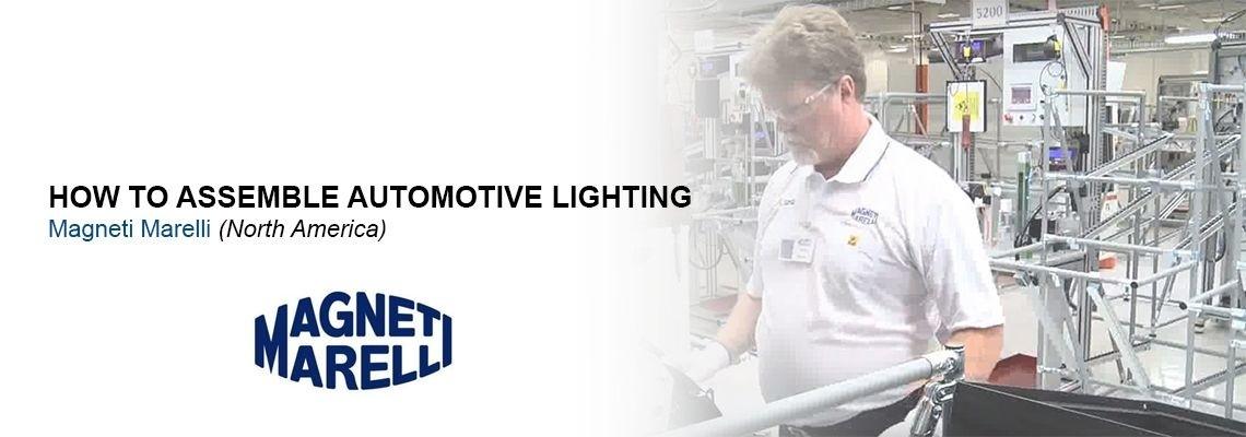 Magneti Marelli, otomotiv aydınlatma sistemlerini nasıl üretiyor?