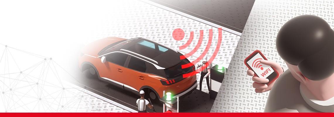 Endüstriyel üretim ve montaj sektöründe sorunsuz Wi-Fi ağı