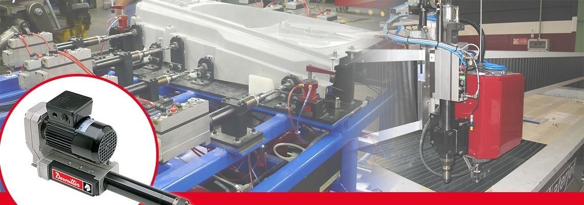 Otomatik ilerlemeli matkaplarınızı iyileştirmek için, Desoutter Industrial Tools basit veya tam özellikli kontrol bloklarını ve bir elektriksel arabirimi tasarlamıştır. Bir teklif isteyin!