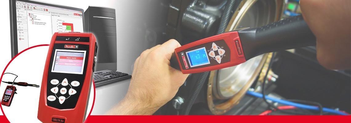Delta tork ölçüm cihazı 500 gram ağırlığı ile her türlü tork ölçümünü yapabileceğiniz kompakt ve protatif bir çözümdür. Harici DRT veya DST transdüser kullanarak havalı, elektrikli, darbeli sıkıcılar ve tork anahtarlarının ölçümünü gerçekleştirebilirsiniz. Üç farklı modeli bulunan cihaz (Delta 1D, 6D ve 7D) ile tek sıkıcı doğrulamasından, istatistik analizine, üretim stratejilerinden artık tork ölçümüne kadar geniş uygulamaları içermektedir.<br/>