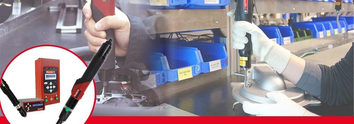 Desoutter Industrial Tools tarafından oluşturulan SLBN ve SLC aletlerini keşfedin. Yüksek üretkenlik için tasarlanmış iki adet eksiksiz elektrikli tornavida ürün grubu.