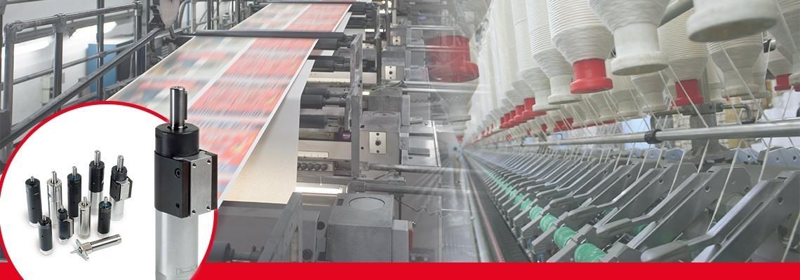 Desoutter Industrial Tools ters çevrilebilir olmayan vidalı şaft hava motorlarının eksiksiz bir ürün gamını geliştirmiştir.