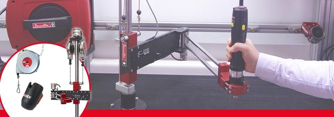 Aletlerinizin ve iş istasyonlarınızın performansını artırmak için. Desoutter industrial tools çok çeşitli ürünler sunar. Bir tanıtım için bize başvurun.