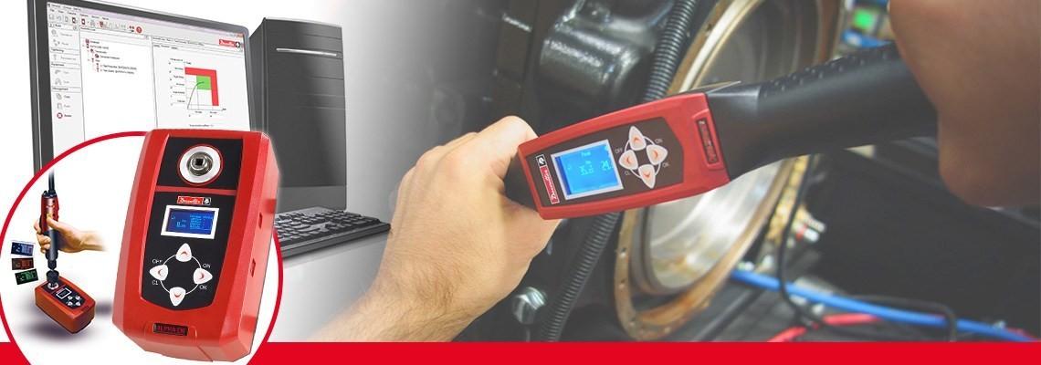 Desoutter Tools tarafından geliştirilen Alpha dijital tork test cihazı, tonavidalardan, tork anahtarlarından veya cırcırlı anahtarlardan tork kontrol sonuçlarını izlemenizi ve toplamanızı sağlar.