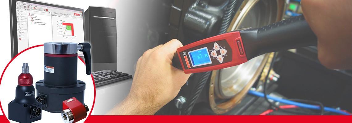 Desoutter Industrial Tools, herhangi bir darbesiz montaj aletinin tork çıkışını ölçmek için eksiksiz bir döner tork transduserleri ürün grubunu geliştirmiştir.
