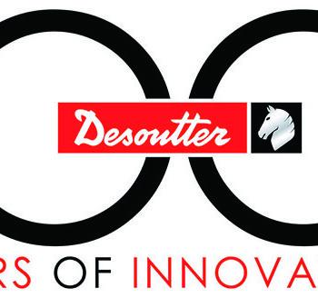 Desoutter 100. yıl Logosu