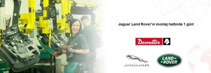 Jaguar Land Rover'ın montaj hattında 1 gün!